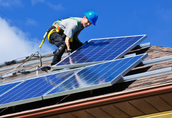 how solar panels work - installation