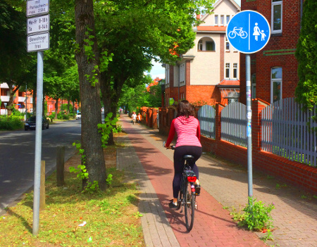 bike friendly city of luneburg